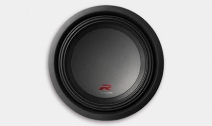 R-Series Subwoofer: More Rigid Dust Cap
