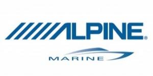 Alpine marine logo