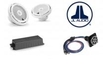 JL Audio marinepakke 1 hvit